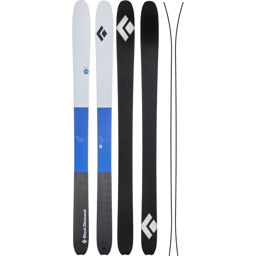 BLACK DIAMOND Helio 105 Carbon Ski - PWELL BLUE