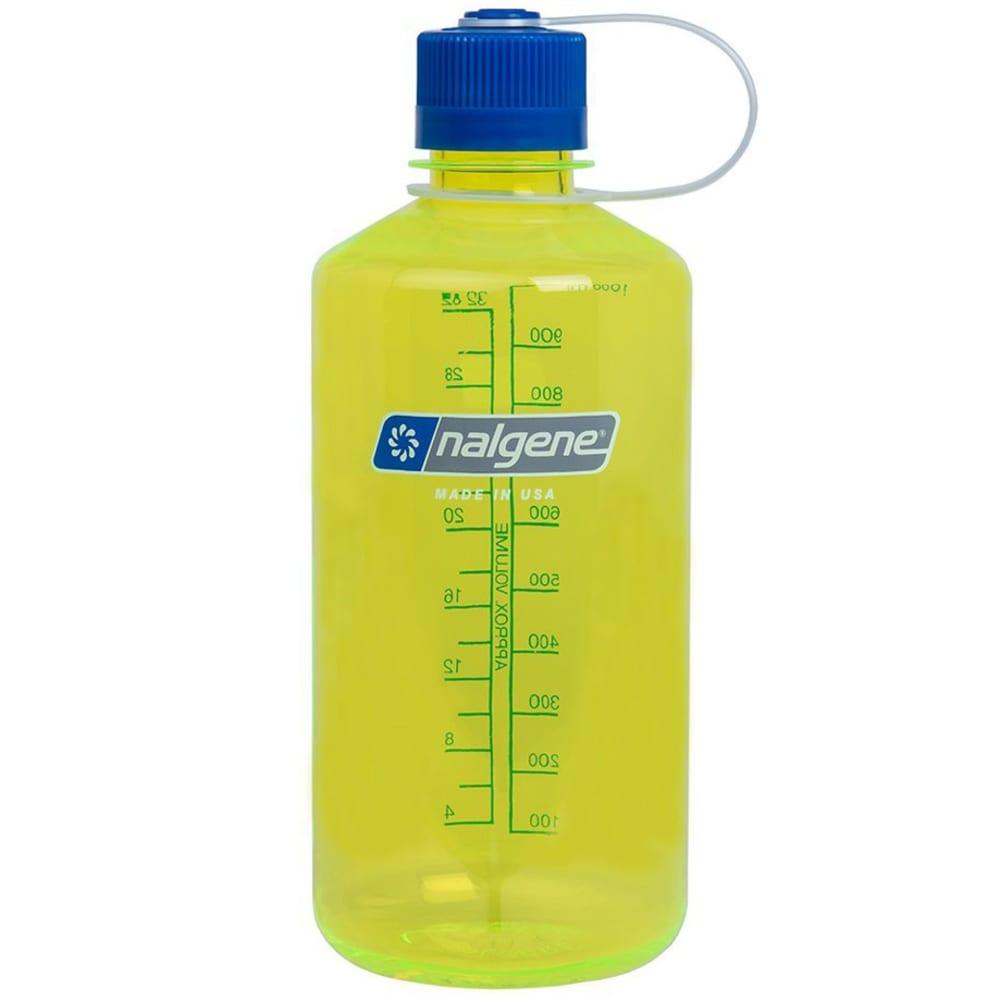 NALGENE Everyday Narrow Mouth Water Bottle, 1 Quart - YELLOW