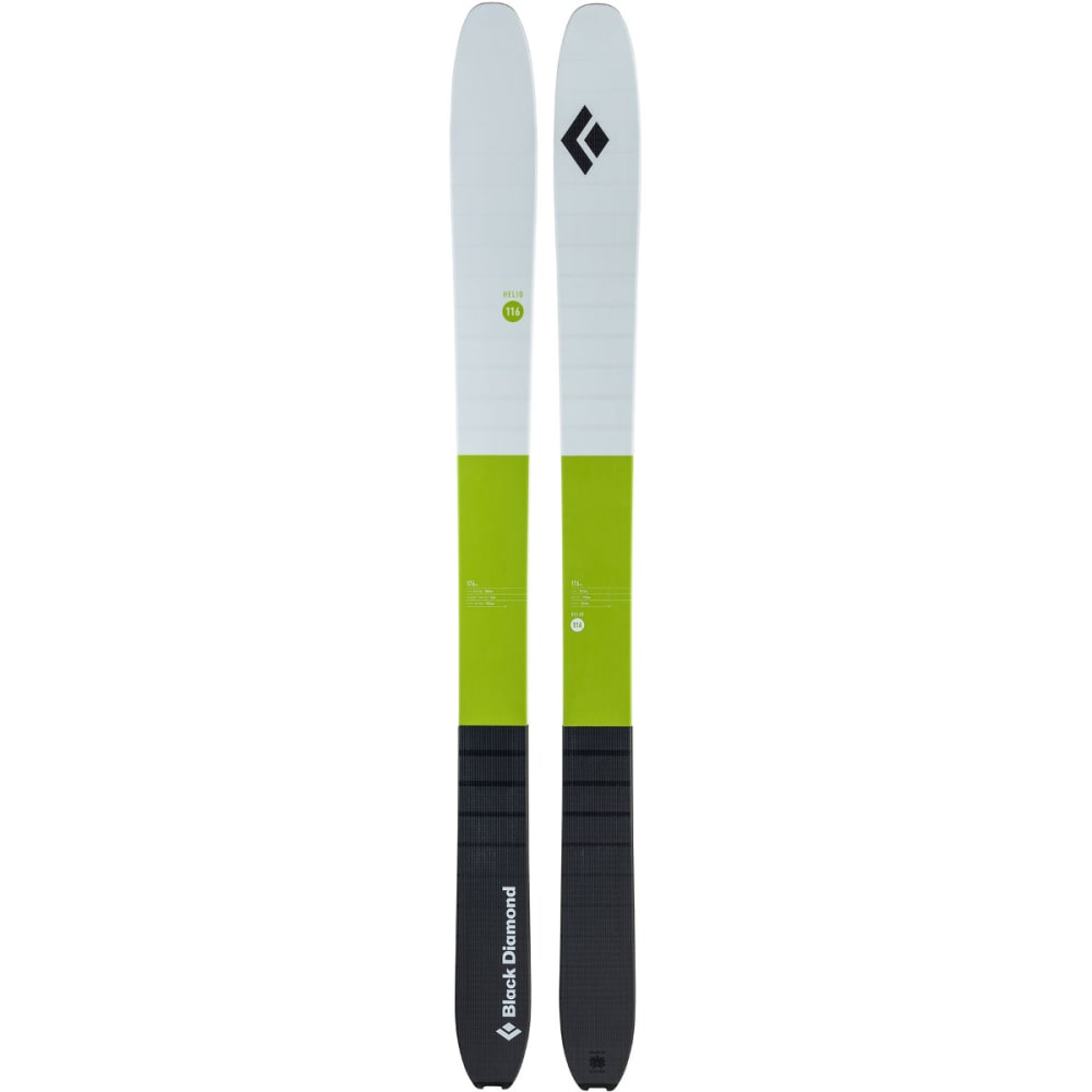 BLACK DIAMOND Helio 116 Carbon Ski - GRASS