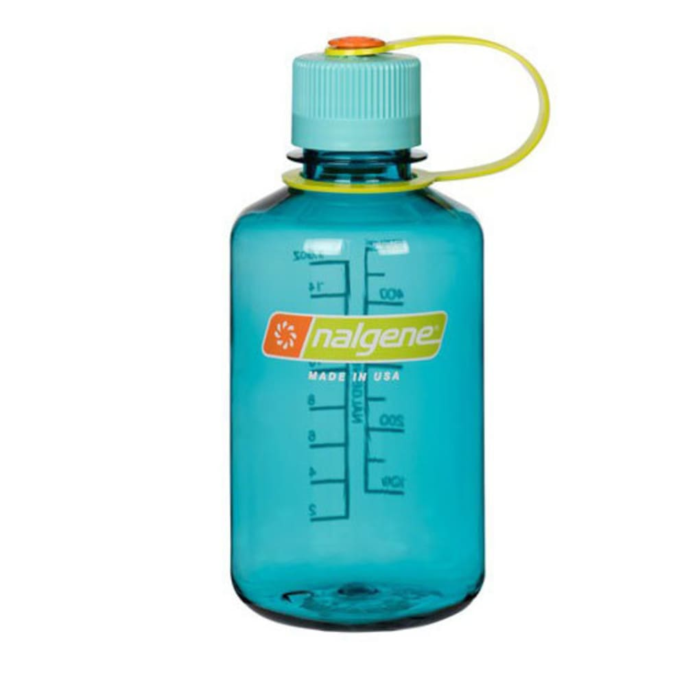 NALGENE 16 oz. Everyday Narrow Mouth Water Bottle - CERULEAN 342092