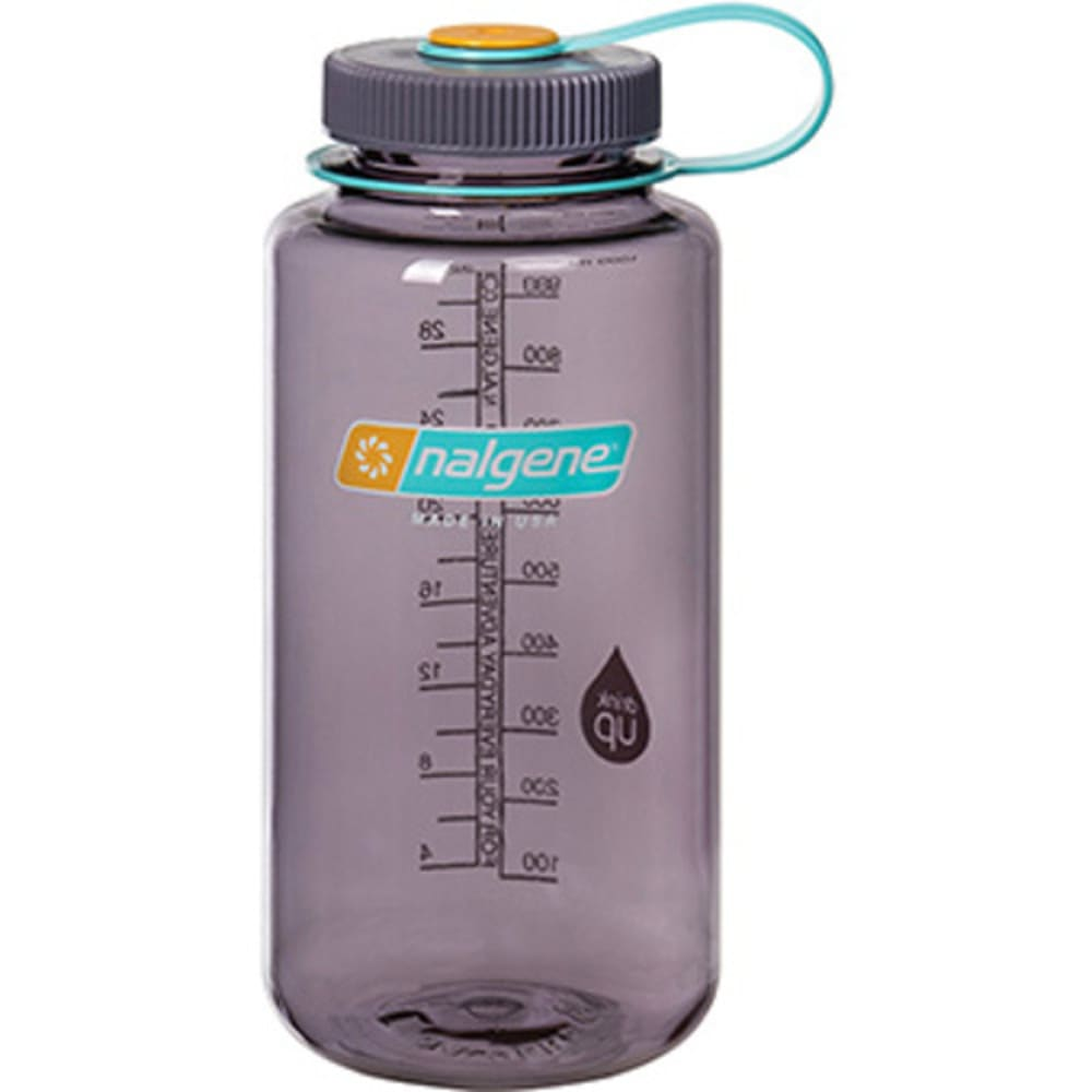 NALGENE 32 oz. Wide Mouth Water Bottle - AUBERGINE 341847