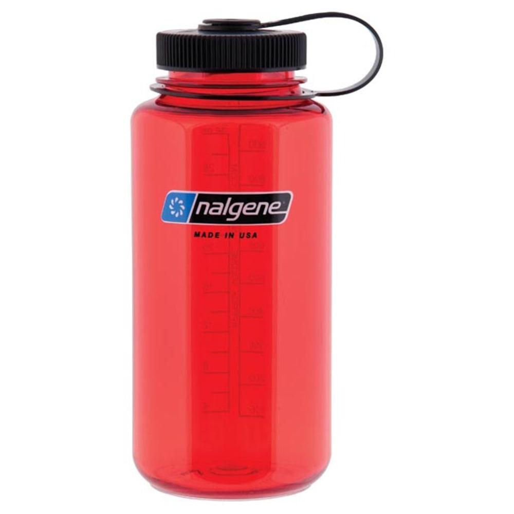 NALGENE 32 oz. Wide Mouth Water Bottle - RED 341831