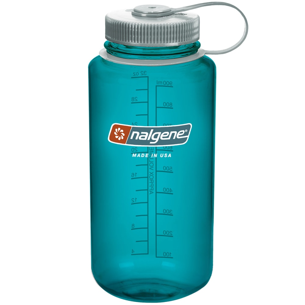 NALGENE Everyday Wide Mouth Water Bottle, 1 Quart - TROUT 341820