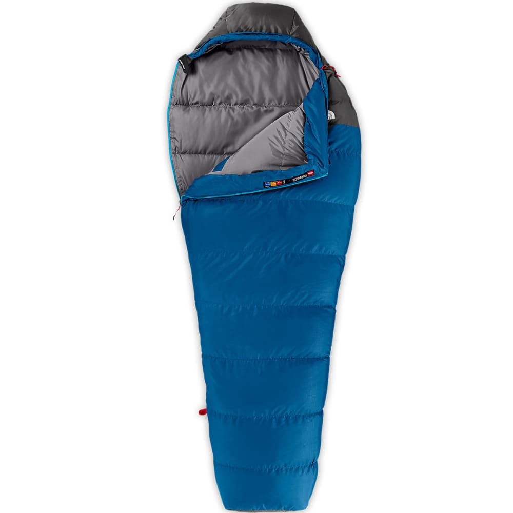 THE NORTH FACE Furnace 20 Long Sleeping Bag - STRIKER BLUE/GREY