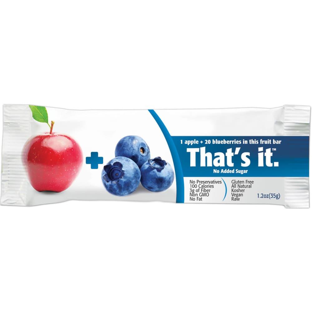 THAT'S IT Apple + Blueberries Fruit Bar - NO COLOR