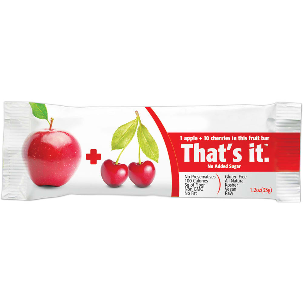 THAT'S IT Apple + Cherries Fruit Bar - NO COLOR