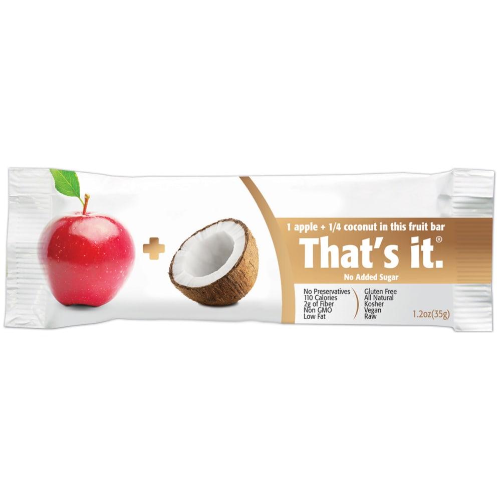 THAT'S IT Apple + Coconut Fruit Bar - NO COLOR