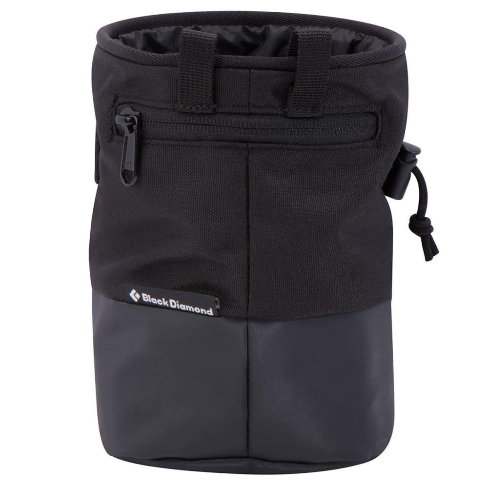 BLACK DIAMOND Mojo Zip Chalk Bag - BLACK