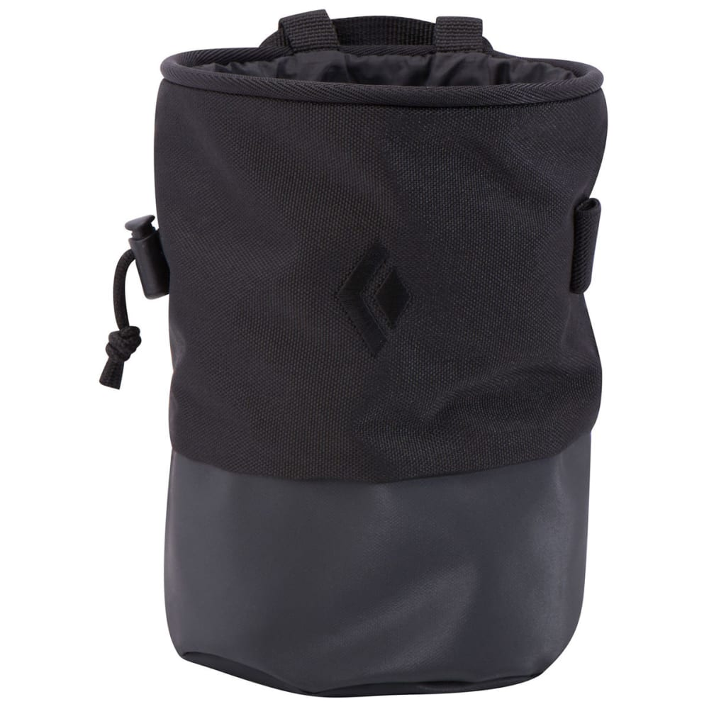 BLACK DIAMOND Mojo Zip Chalk Bag - BLACK