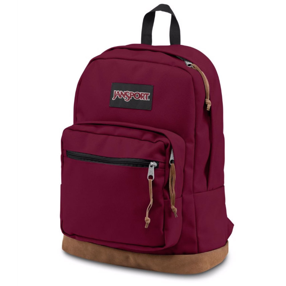 JANSPORT Right Pack Backpack - RUSSET RED-04S