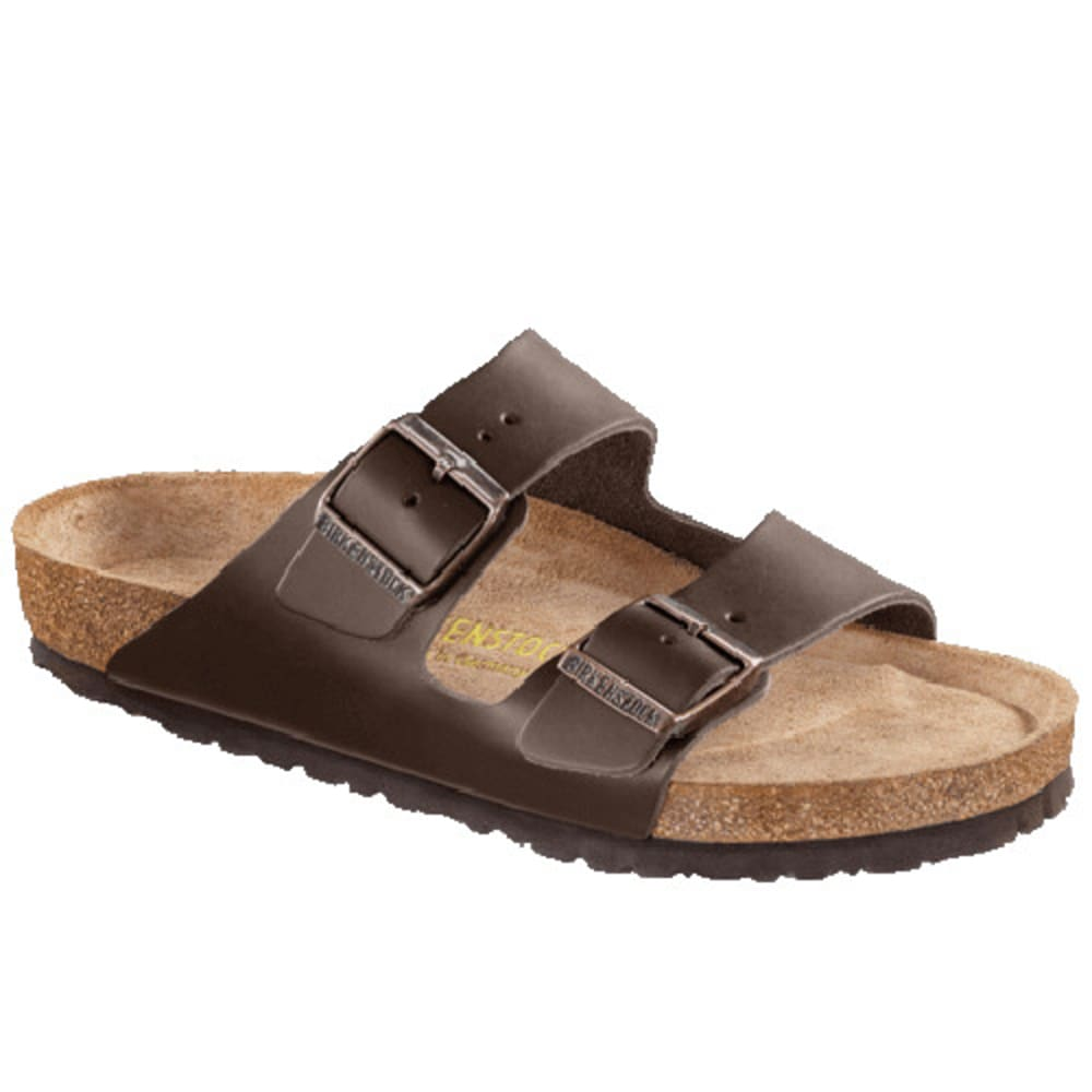 BIRKENSTOCK Men's Arizona Soft Footbed Sandals, Habana Oiled Leather - HABANA