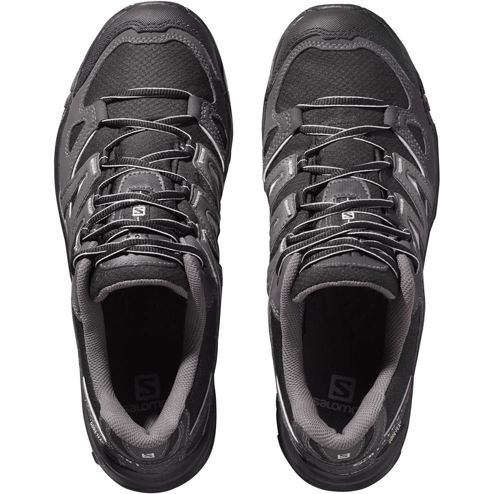 SALOMON Men's Eskape GTX Hiking Shoes - BLACK/ASPHALT