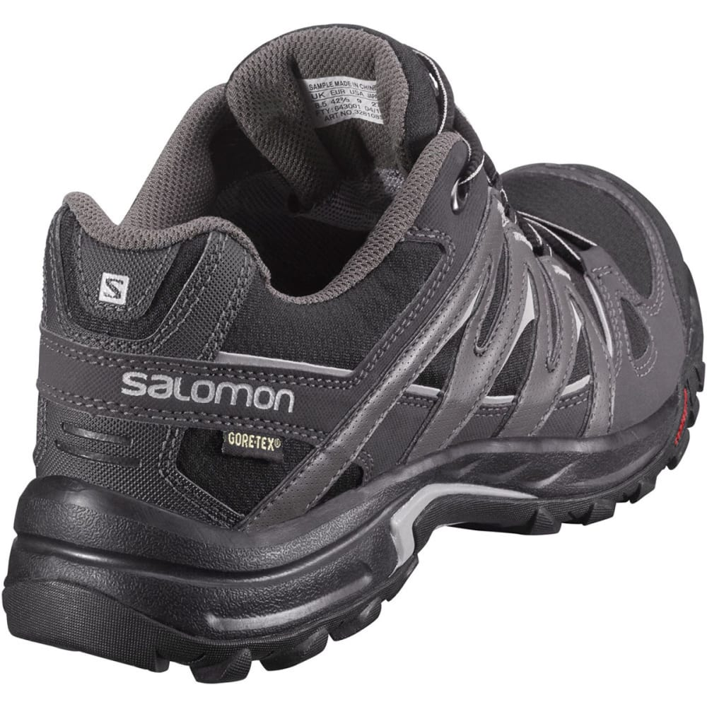 SALOMON Men's Eskape GTX Hiking Shoes - BLACK/ASPHALT