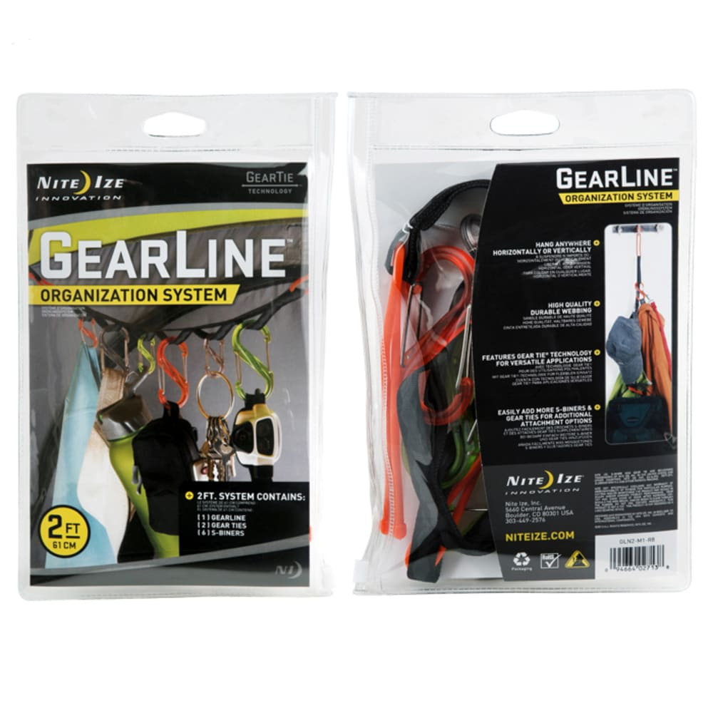 NITE IZE GearLine Organization System - NO COLOR