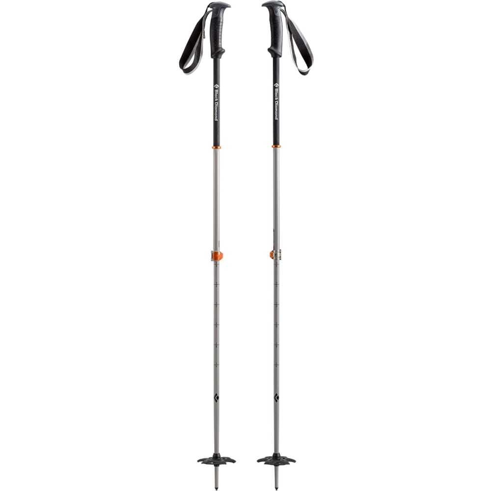 BLACK DIAMOND Traverse Pro Ski Poles - VIB ORANGE