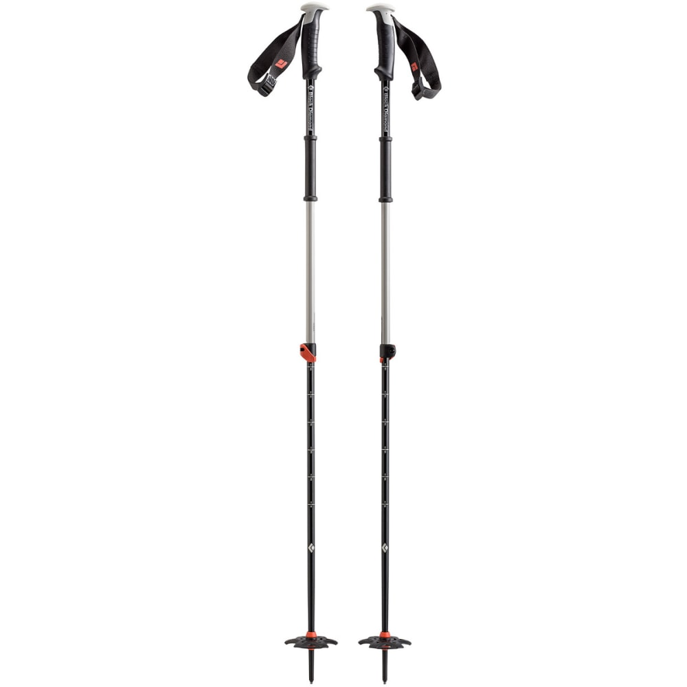 BLACK DIAMOND Traverse Ski Poles - VIB ORANGE