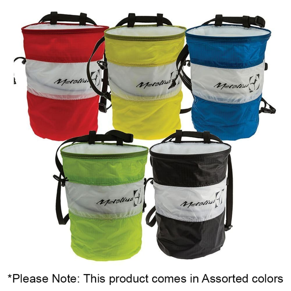 METOLIUS Ultralight Cylinder Chalk Bag - ASSORTED