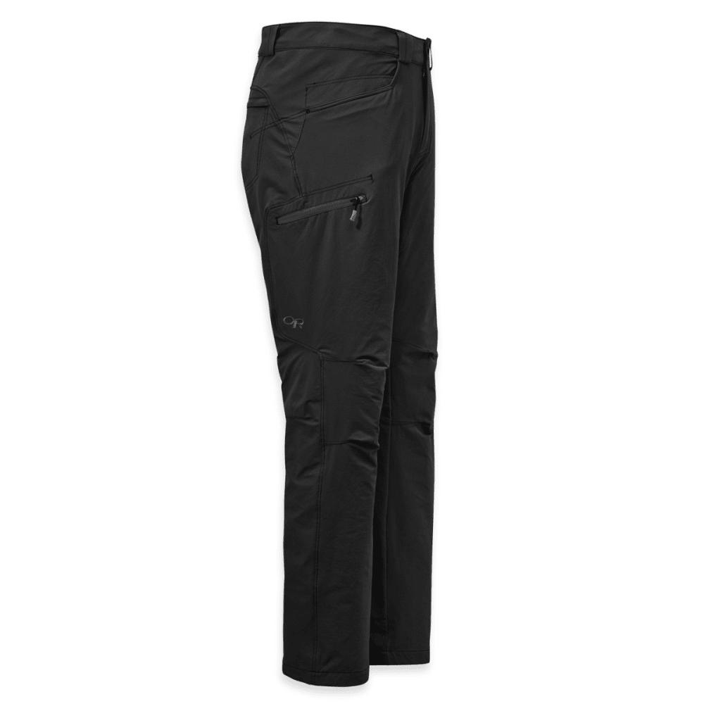OUTDOOR RESEARCH Men's Voodoo Pants, Short - BLACK