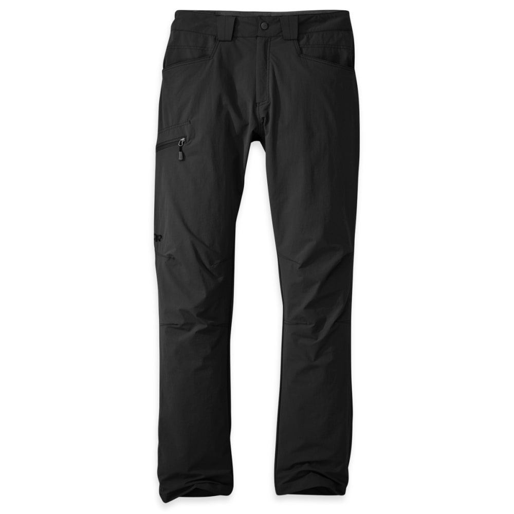 OUTDOOR RESEARCH Men's Voodoo Pants, Short - BLACK