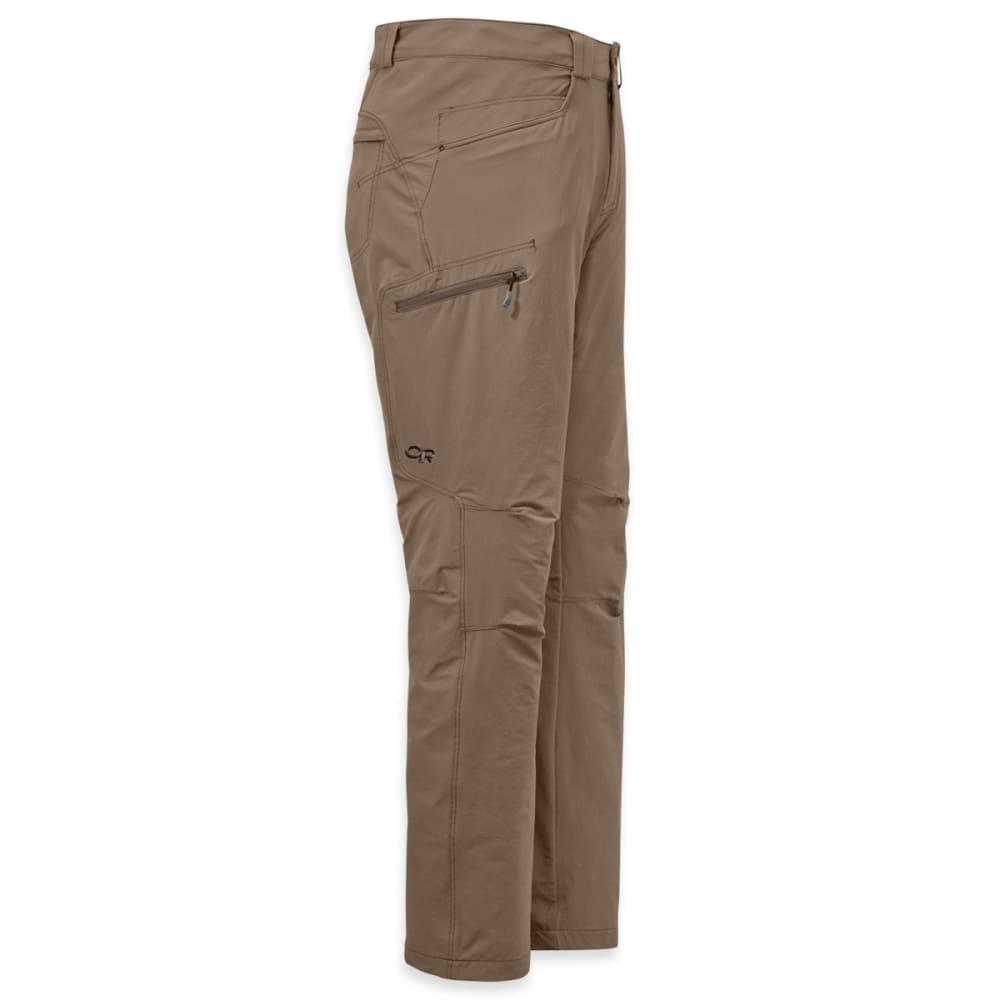 OUTDOOR RESEARCH Men's Voodoo Pants, Short - WALNUT