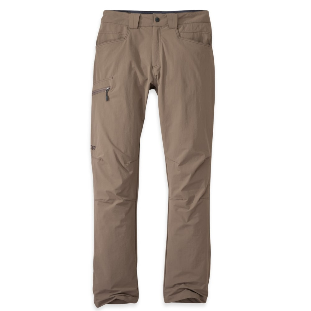 OUTDOOR RESEARCH Men's Voodoo Pants, Short - WALNUT