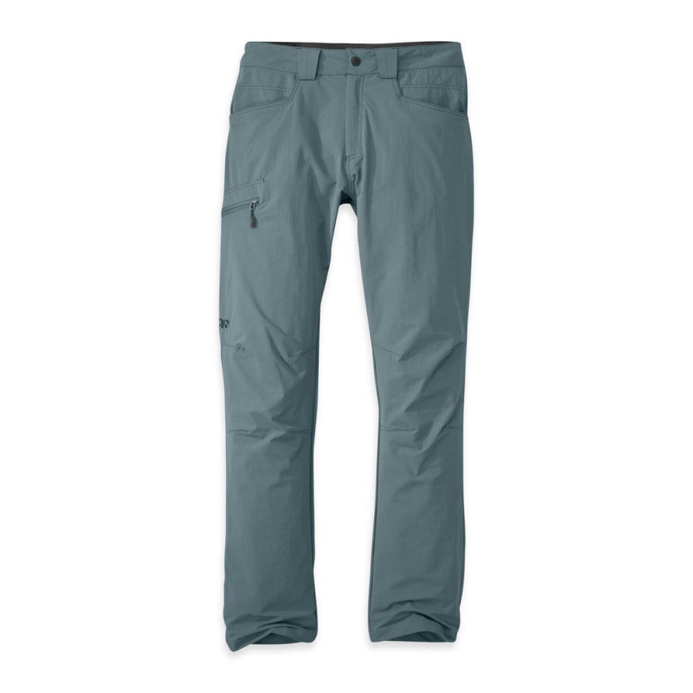 OUTDOOR RESEARCH Men's Voodoo Pants, Short - SHADE