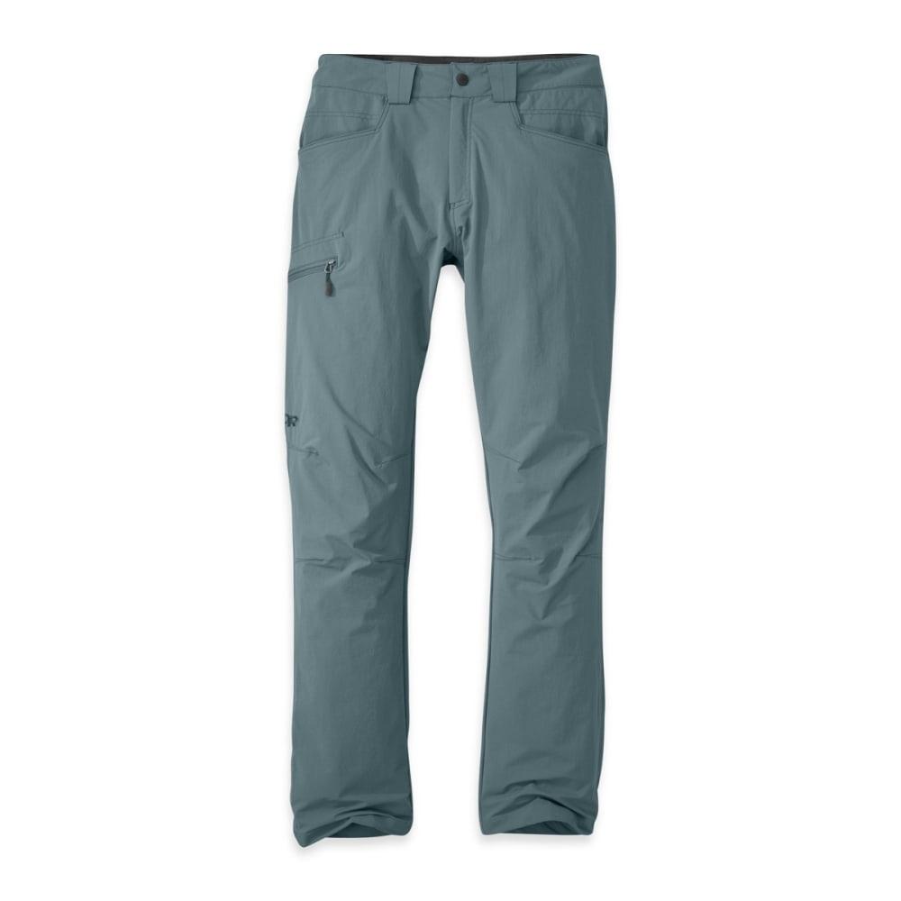 OUTDOOR RESEARCH Men's Voodoo Pants, Short - SHADE