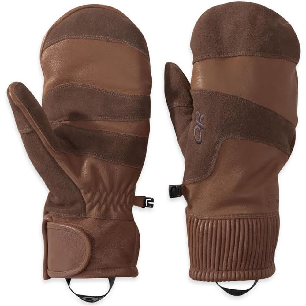 OUTDOOR RESEARCH Men's Rivet Mitts - COFEE