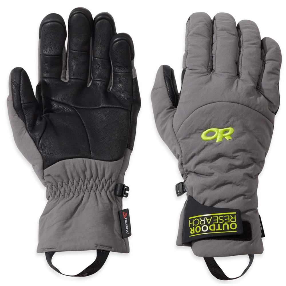 OUTDOOR RESEARCH Lodestar Sensor Gloves - PEWTER