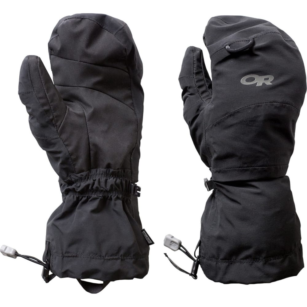 OUTDOOR RESEARCH Shuksan Mitts - BLACK