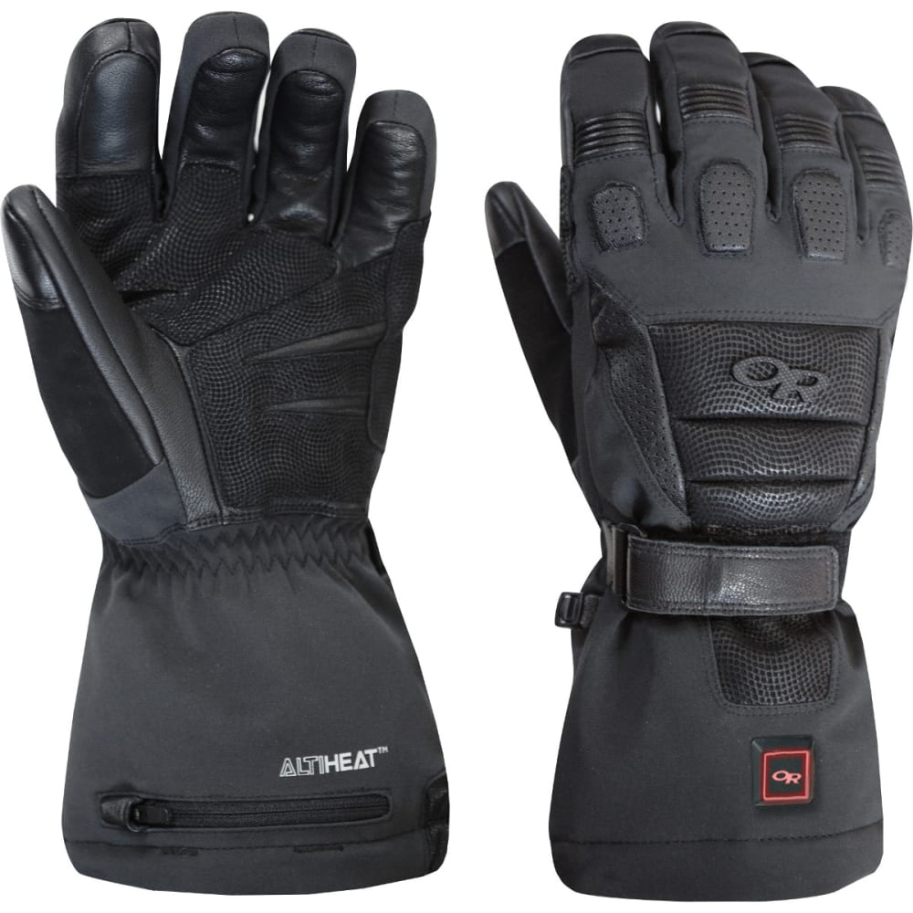 OUTDOOR RESEARCH Capstone Heated Gloves - BLACK