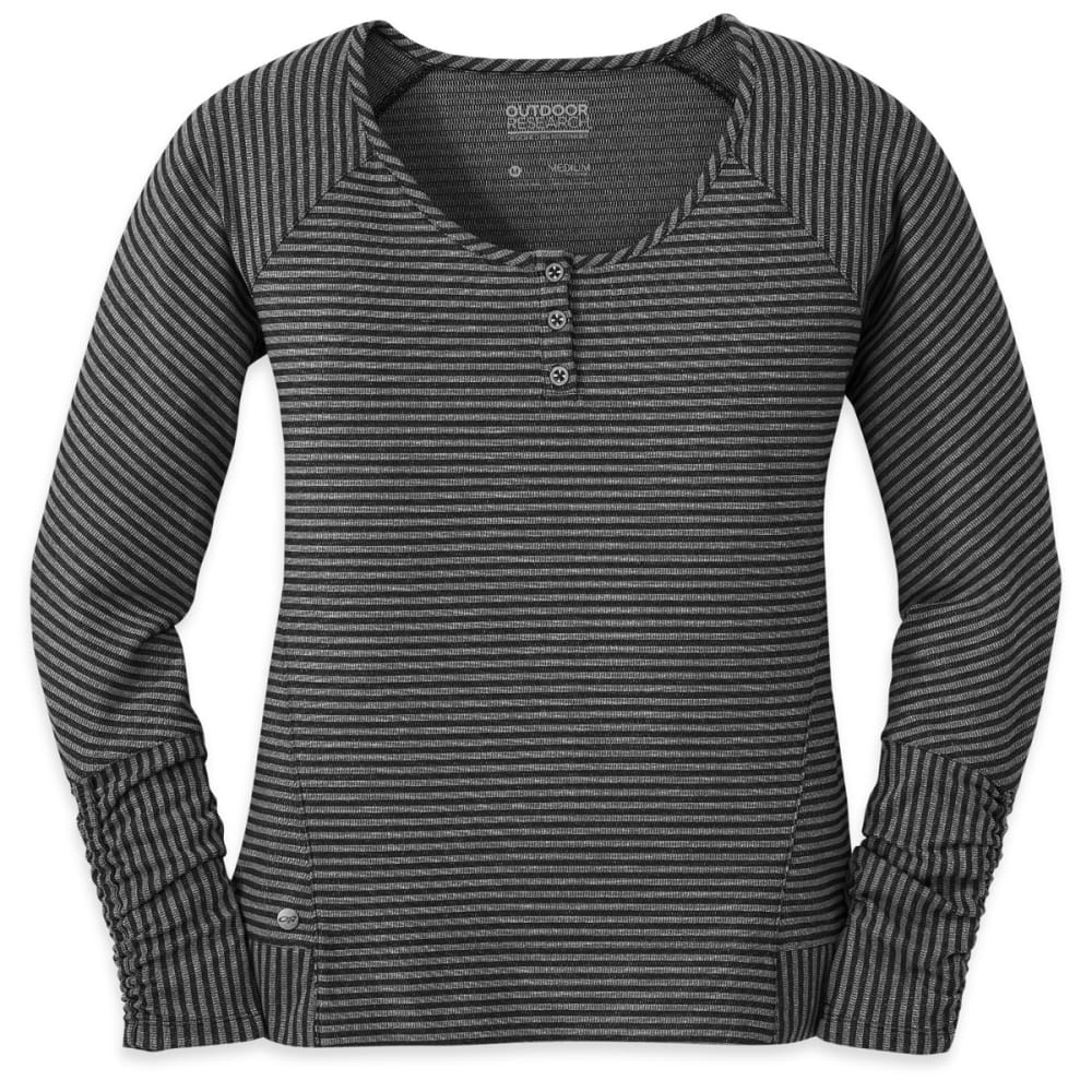 OUTDOOR RESEARCH Women's Mikala Henley - BLACK/PEWTER