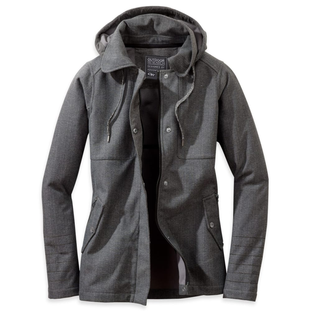 OUTDOOR RESEARCH Women's Oberland Hoody - CHARCOAL