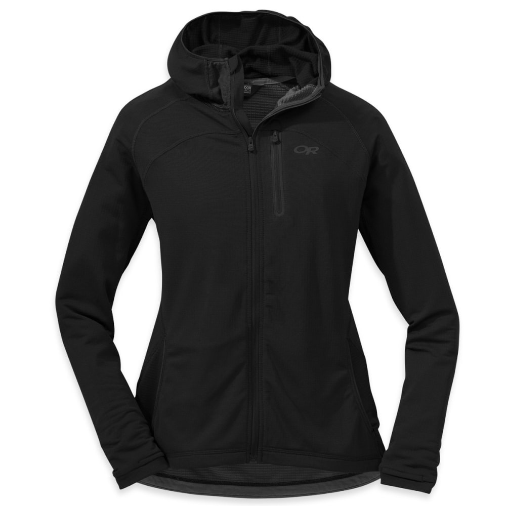 OUTDOOR RESEARCH Women's Transition Hoody - BLACK