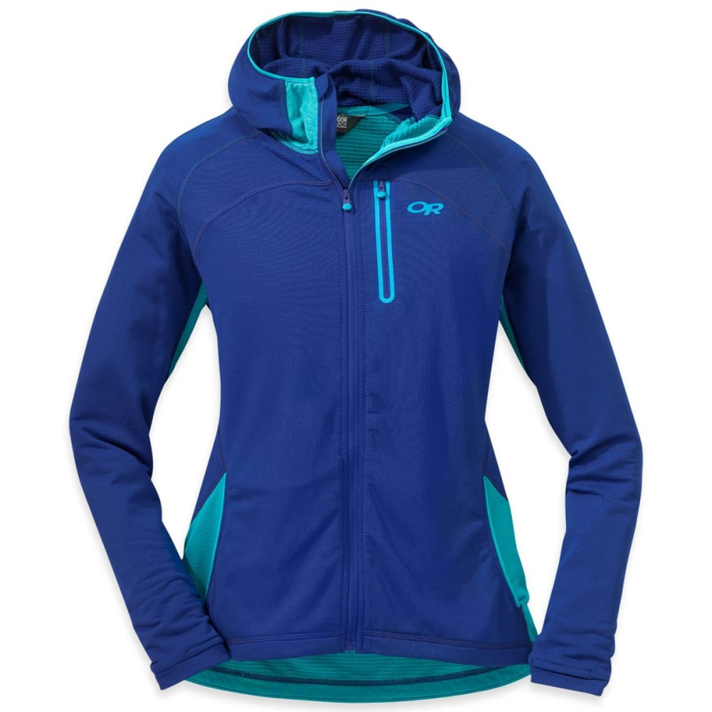 OUTDOOR RESEARCH Women's Transition Hoody - BALTIC/TYPHOON