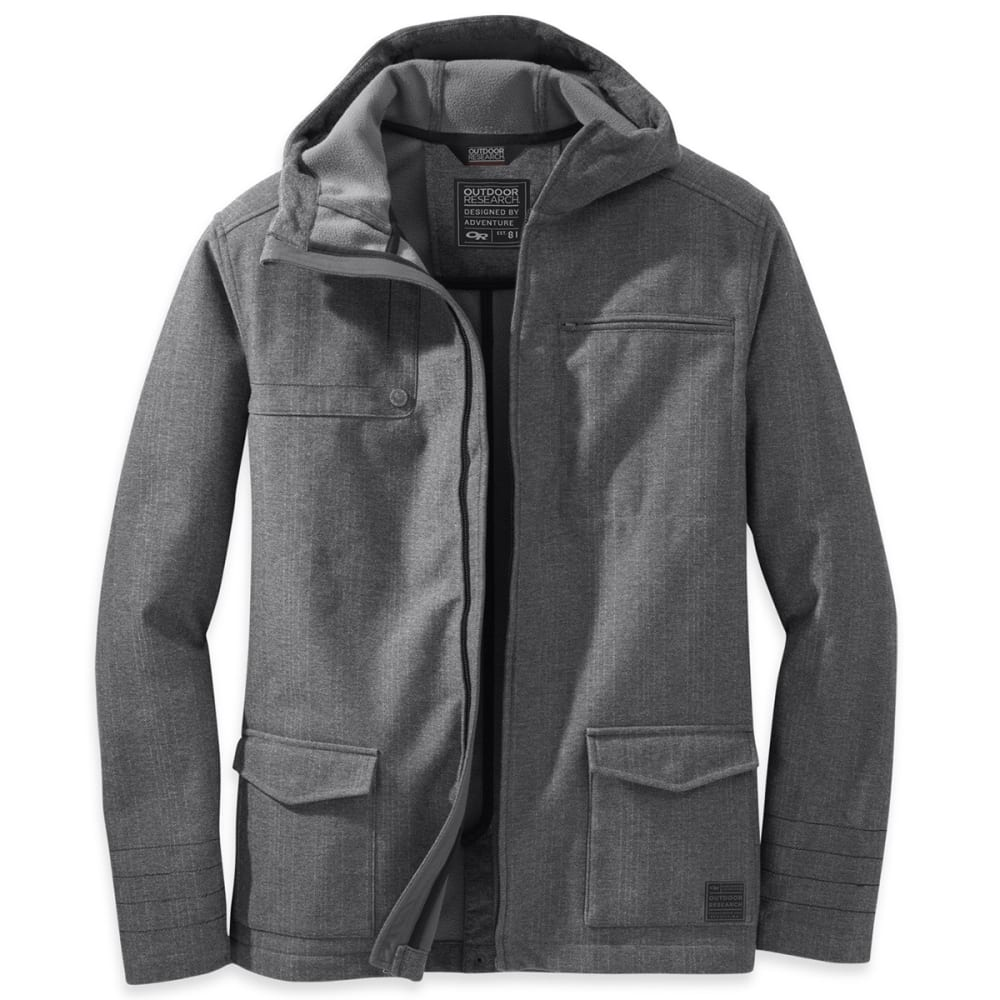 OUTDOOR RESEARCH Men's Oberland Hoody - CHARCOAL