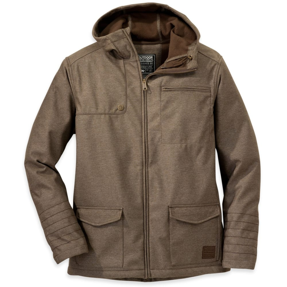OUTDOOR RESEARCH Men's Oberland Hoody - EARTH