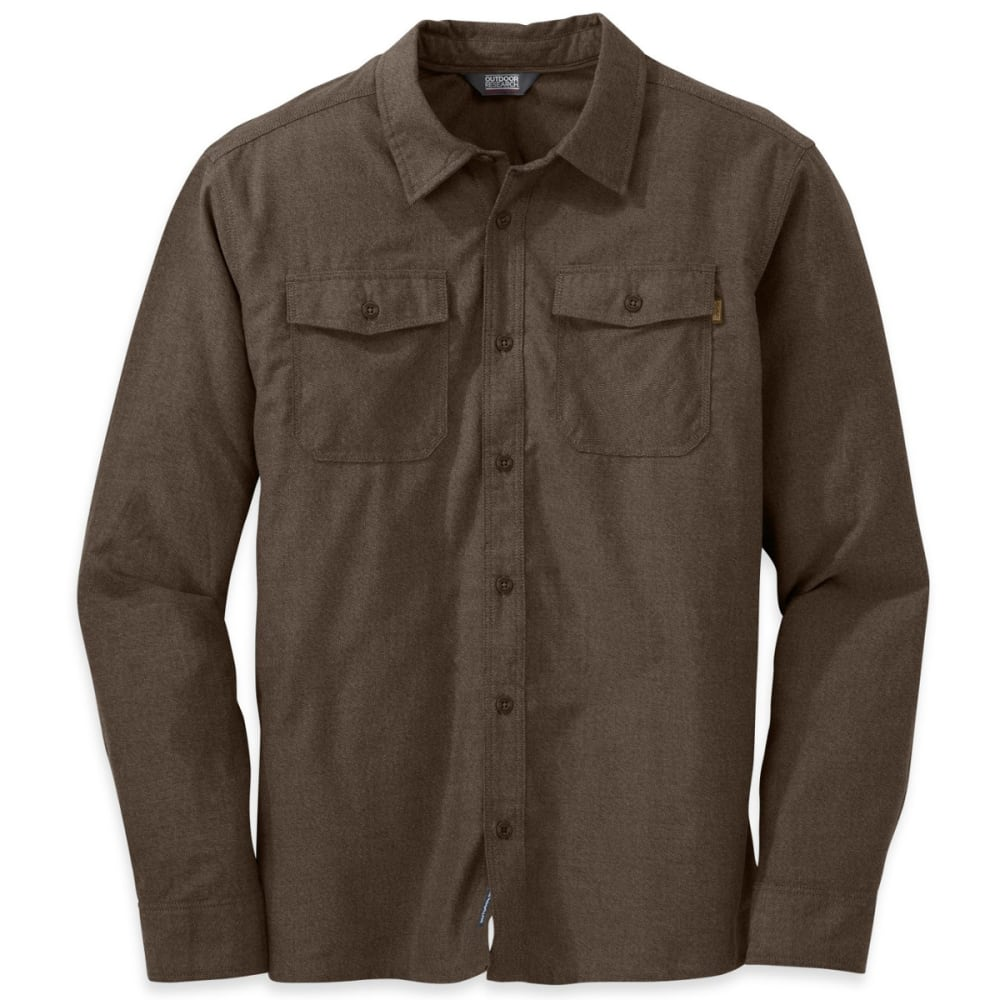 OUTDOOR RESEARCH Men's Gastown Longsleeve Shirt - EARTH