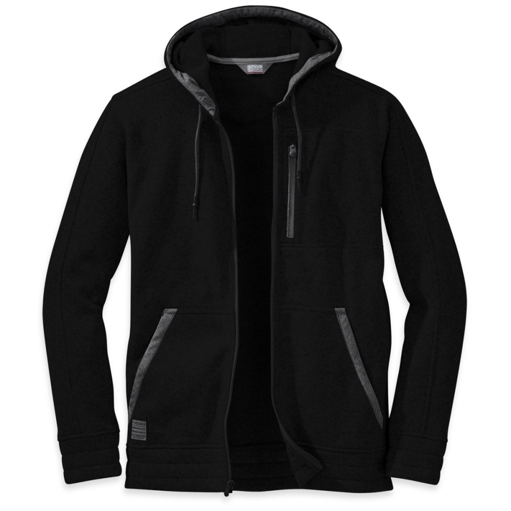 OUTDOOR RESEARCH Men's Belmont Hoody - BLACK
