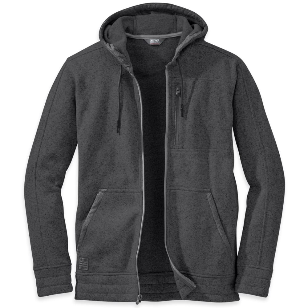 OUTDOOR RESEARCH Men's Belmont Hoody - CHARCOAL