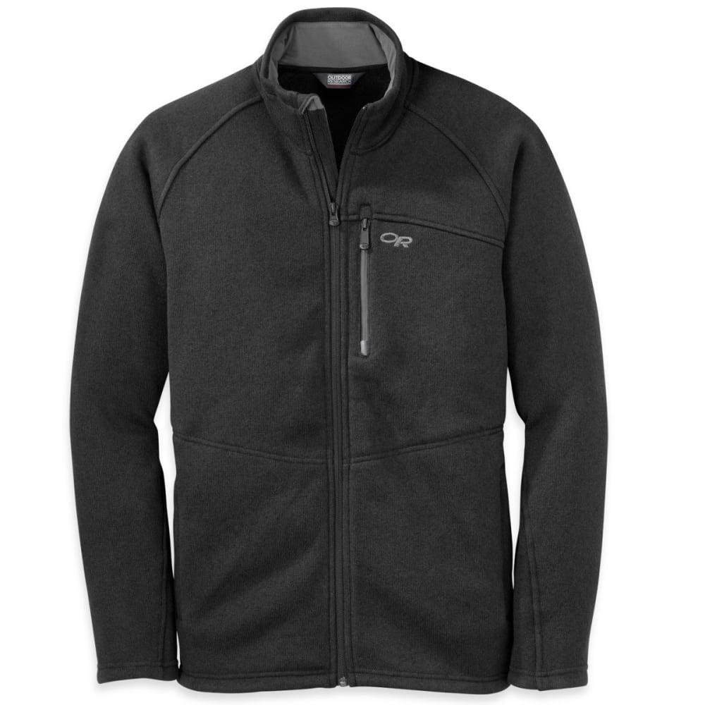 OUTDOOR RESEARCH Men's Longhouse Jacket - BLACK