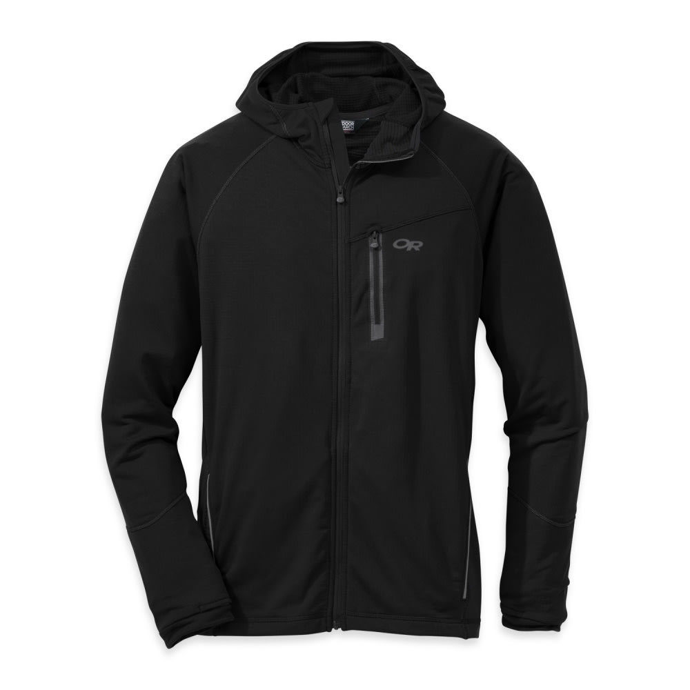 OUTDOOR RESEARCH Men's Transition Hoody - BLACK