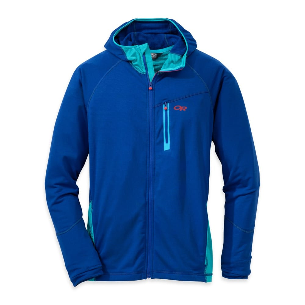 OUTDOOR RESEARCH Men's Transition Hoody - BALTIC/TYPHOON