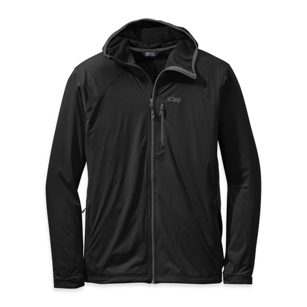 OUTDOOR RESEARCH Men's Centrifuge Hoody - BLACK
