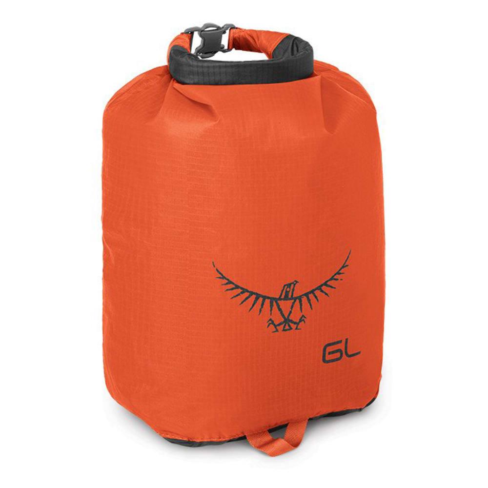 OSPREY 6L Ultralight Dry Sack - POPPY ORANGE