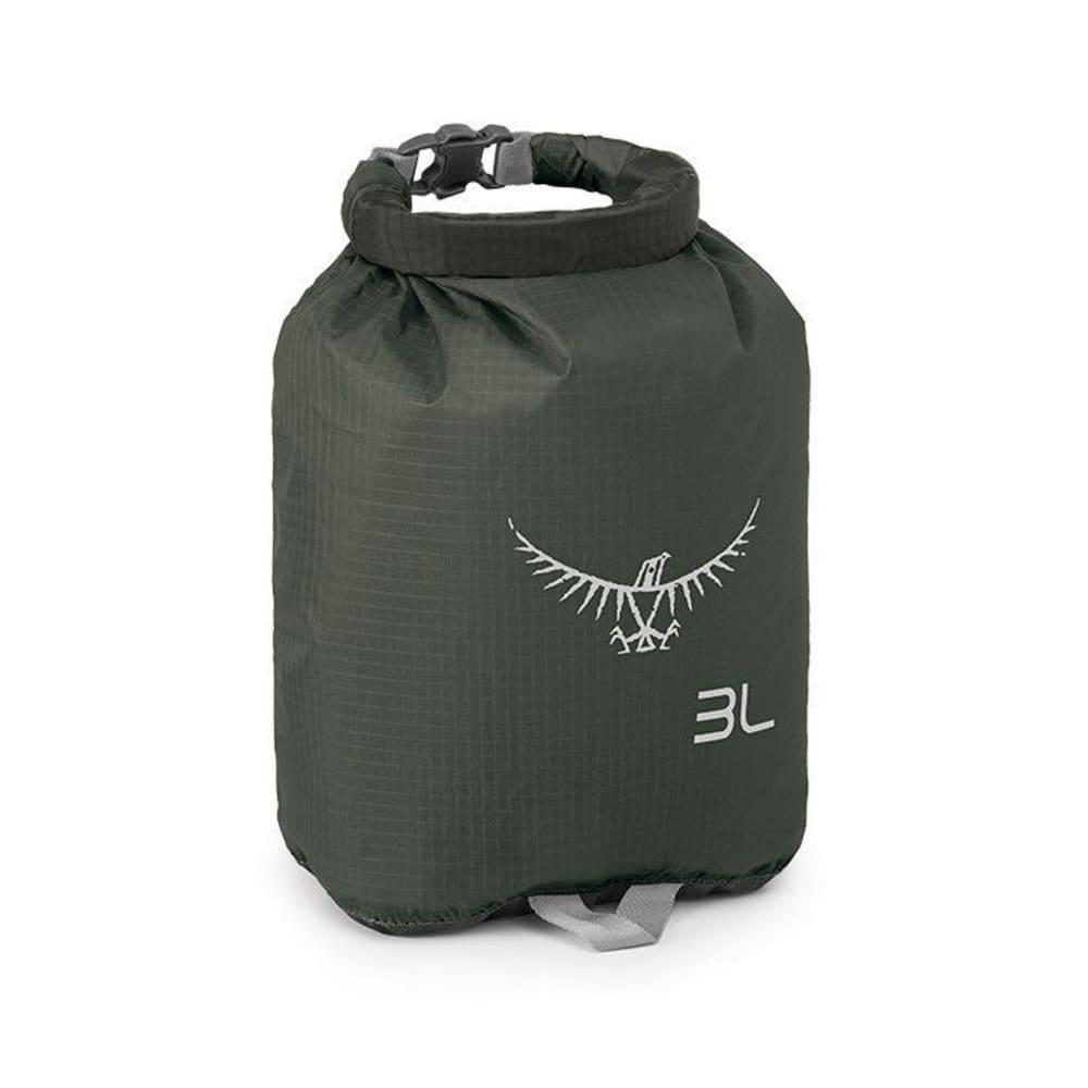 OSPREY 3L Ultralight Dry Sack - SHADOW GREY