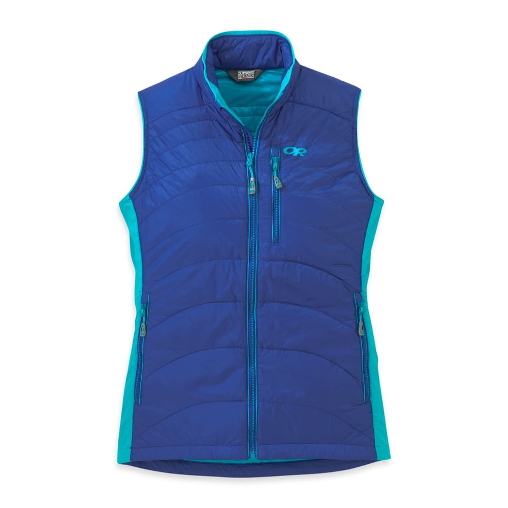 OUTDOOR RESEARCH Women's Cathode Vest - BALTIC/TYPHOON