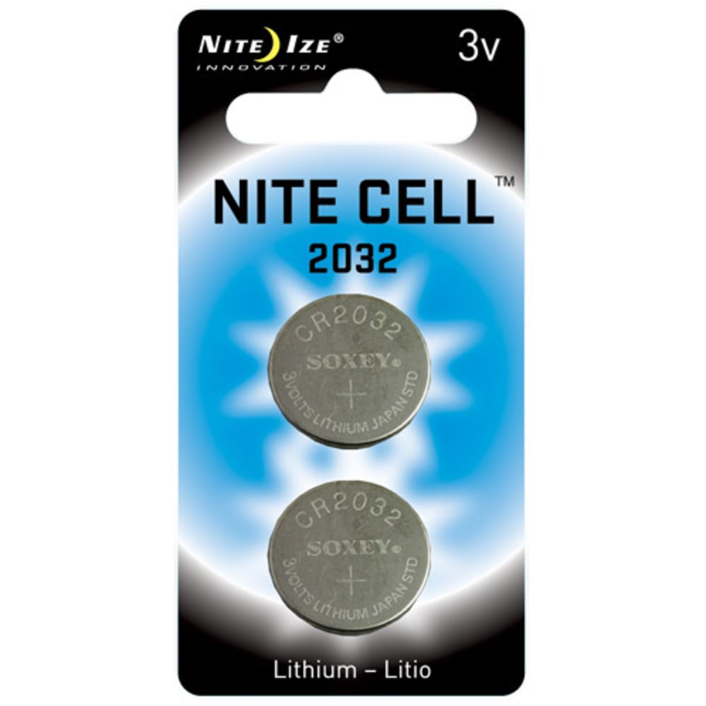NITE IZE Nite Cell 2032 Replacement Batteries - NO COLOR