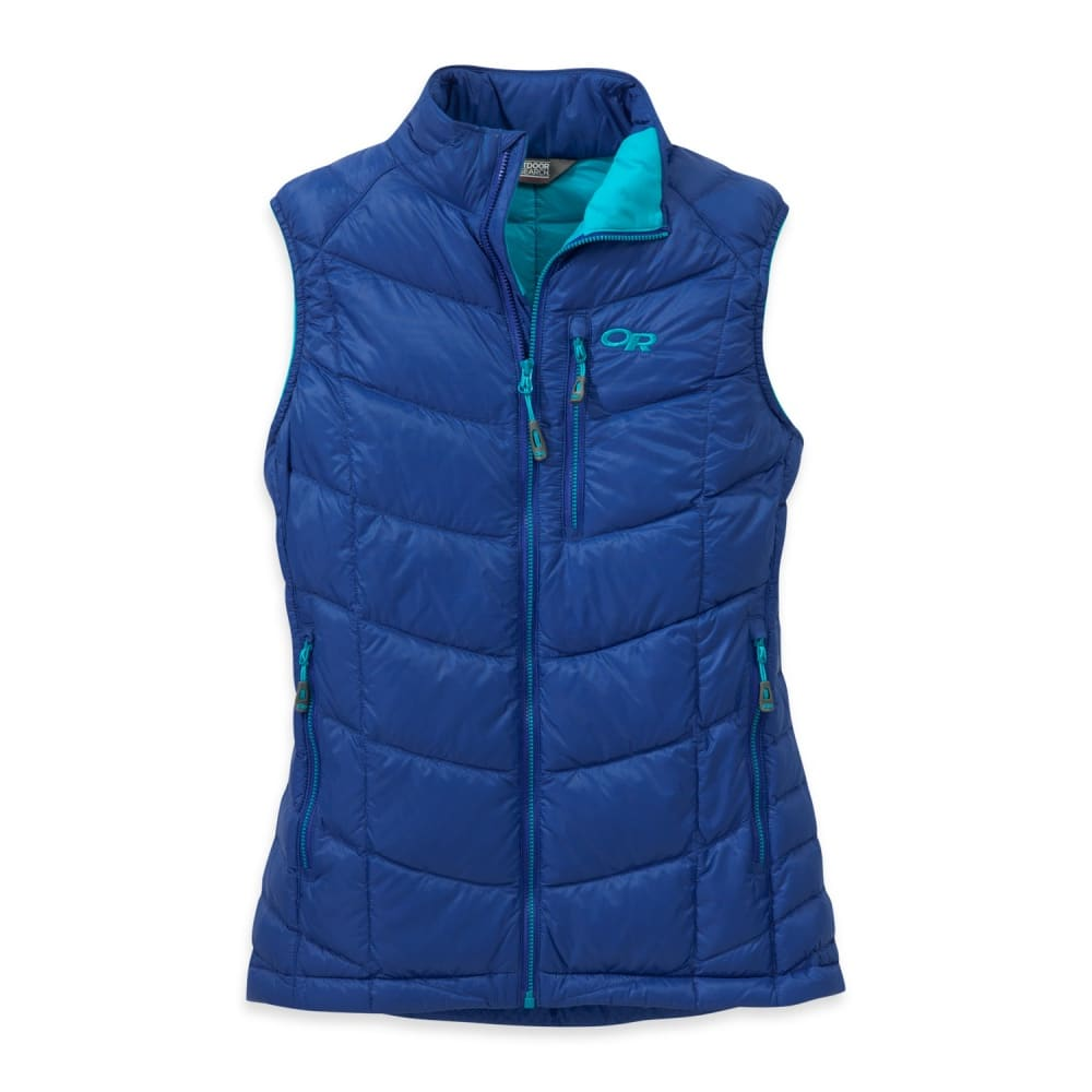 OUTDOOR RESEARCH Women's Sonata Down Vest - BALTIC/TYPHOON