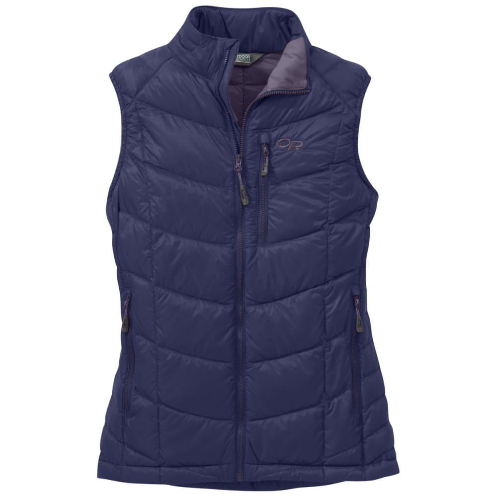 OUTDOOR RESEARCH Women's Sonata Down Vest - BLUE VIOLET/FIG